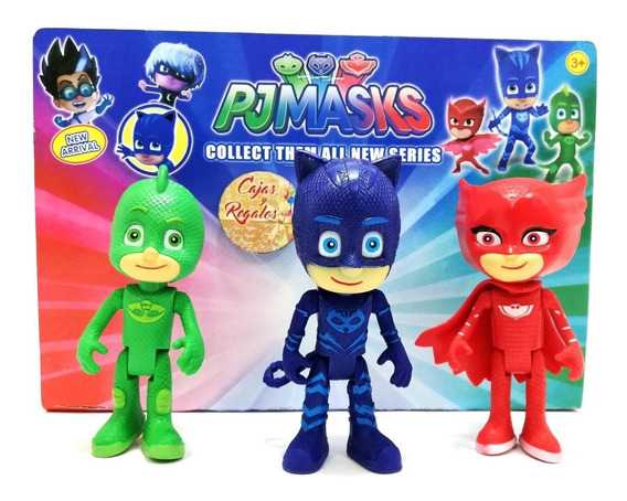 Pj Masks Heroes En Pijama Juego De 3