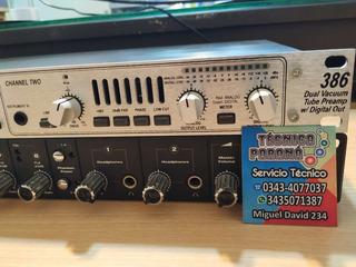 Preamplificador Valvular Dbx 386 Dual Channel U.s.a.