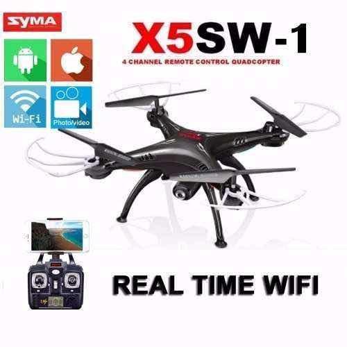 Pronta Entrega Drone Syma X5sw Câmera 2.4g 6-axis Duas Cores