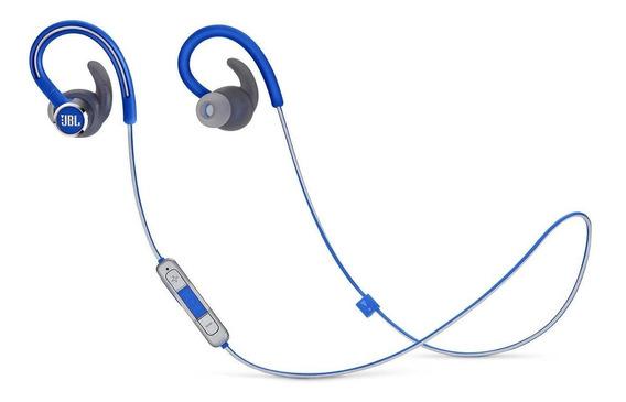 Fone Ouvido Esportivo Bluetooth Jbl Reflect Contour 2 Azul