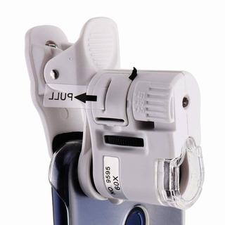 Microscopio Lupa Para Celular O Tablet 60x Con Clip