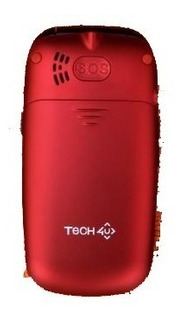Celular Tech4u Shell 3g Cámara Bluetooth Mp3 Botón Sos