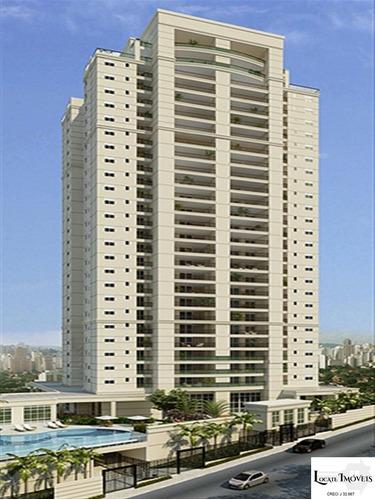 Apartamento Alto Padrão Com 200m², 3 Suítes E 4 Vagas A Venda Jardim Anália Franco/vila Regente Feijó - Ap00255 - 69316004