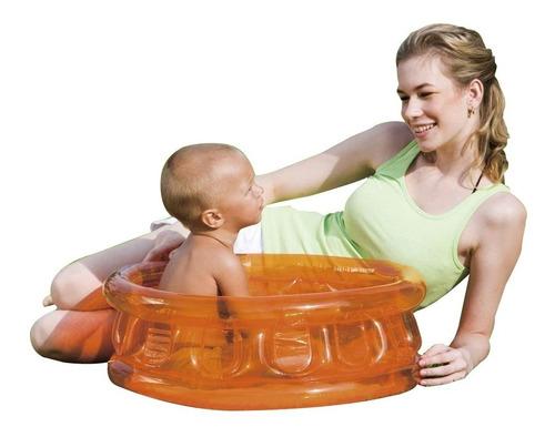 Pileta Inflable Bebe Kiddie Bestway Transparente Redonda