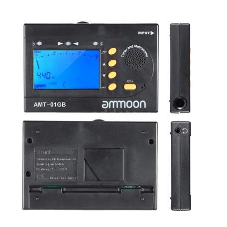 Metrónomo Digital Afinador Amt-01g
