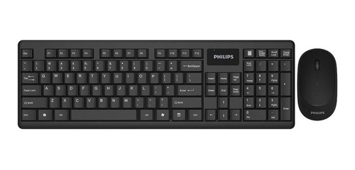 Combo Teclado + Mouse Inalambrico Philips C314 - Revogames