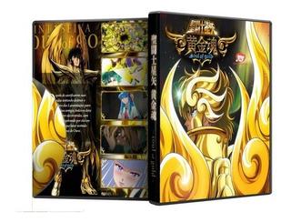 Dvd Os Cavaleiros Do Zodíaco - Soul Of Gold - Completo