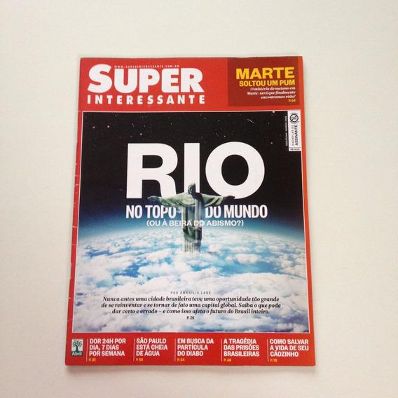 Super Interessante Rio No Topo Do Mundo N°344 Março 2015