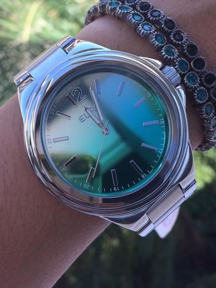 Relógio Euro Prata