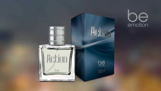 Perfume Be Emotion Action 100ml