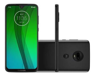 Smartphone Motorola Moto G7 64gb 4gb Tela 6.2 Full Hd Dual Cam 12 + 5mp - Ônix