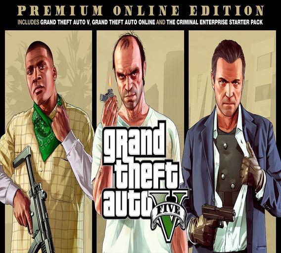 Gta V 5 Grand Theft Auto V Pc Key Original Premium Edition