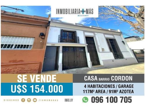 Venta Casa Cordon Montevideo Imas.uy S *