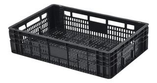 Caixa Plástica Agrícola Hortifruti Organizadora 17x40x60cm