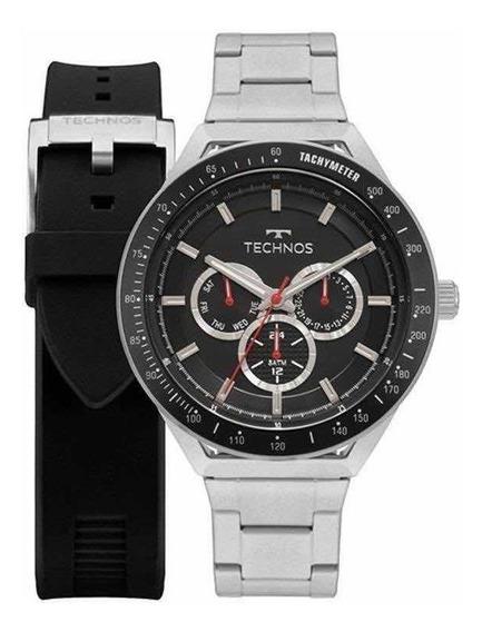 Relógio Technos Masculino Performance Skymaster 6p29ajy/t1p