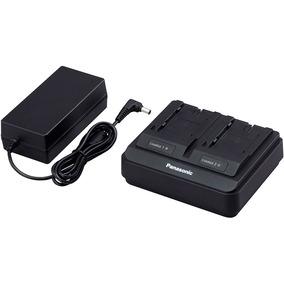 Carregador Original Duplo Panasonic Ag Brd50p P/ Bateria Vbr