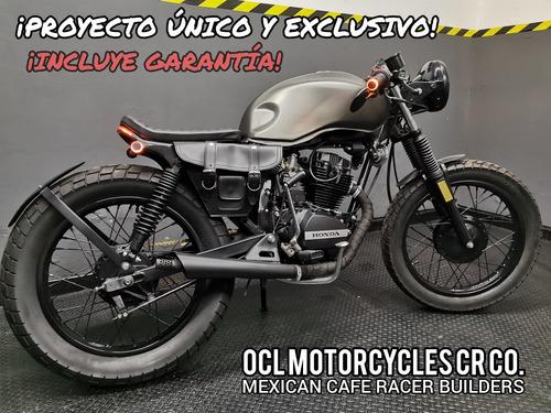 Imagen 1 de 8 de *moto Honda 125cc Cafe-brat ¡en Stock! (custom/cafe Racer)*