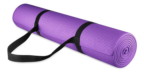 Tapete Mat Yoga Pilates Fitness Ginástica 200x60x0,5cm