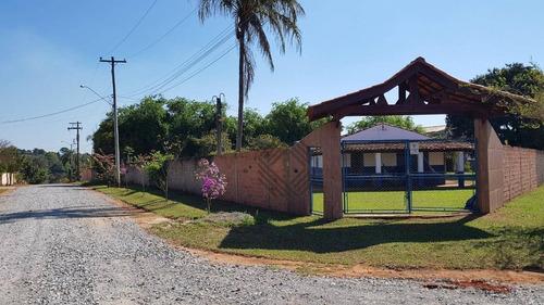 Chácara À Venda, 1845 M² Por R$ 400.000,00 - Residencial Pomares - Araçoiaba Da Serra/sp - Ch0483