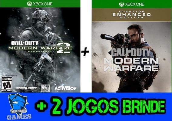 Cod Mod Warfare + Modern Warfare 2 Remastered - X Box One