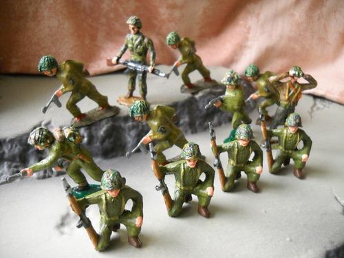 Los Pintado De Soldaditos 12 Figuras 1/32/54mm