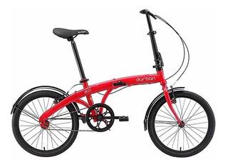 Bicicleta Dobrável Durban Eco Vermelho Aro 20