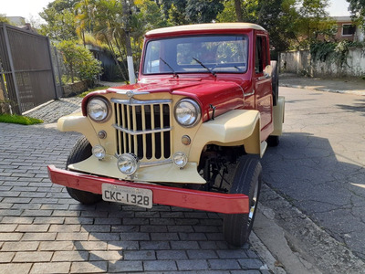 F 75 F75 Rural Willys Ford Pick Up Bicudinha