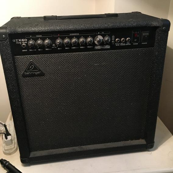 Amplificador Behringer Gtx60 (permuto)