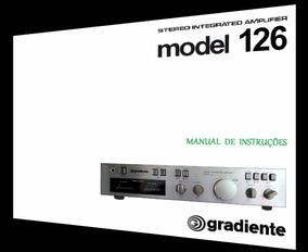 Manual Do Amplificador Gradiente Model 126 (cópia Colorida)