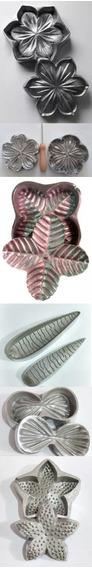 Kit De Frisadores Em Alumínio Com 6 Peças Para Suculentas