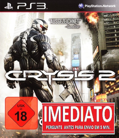 Crysis 2 Ps3 Psn - Midia Digital