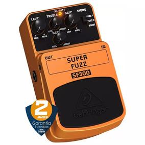 Pedal Guitarra Behringer Super Fuzz Sf300 Laranja