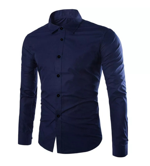 Camisas Entalladas Elástizadas Slim Fit Sublime For Men