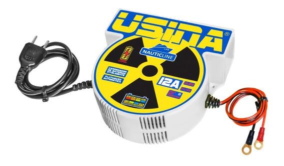Carregador Inteligente De Baterias Usina Nauticline 12a 12v