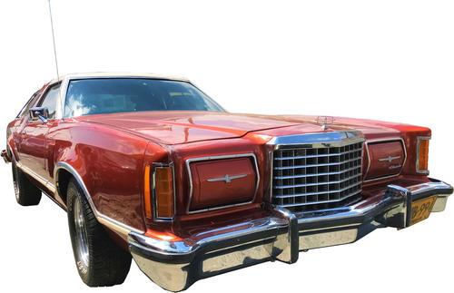 Expectacular Auto De Coleccion Ford Thunderbird 1978