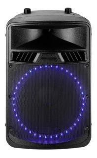Bafle Activo Samson 200 Watts Bluetooth Luz Led Portatil 12
