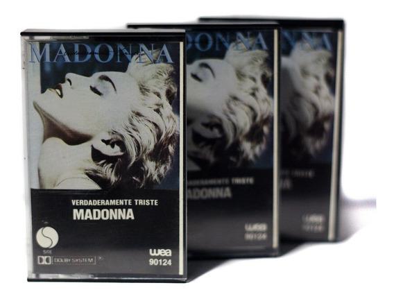 Cassette Madonna True Blue Verdaderamente Triste 1986 /nuevo