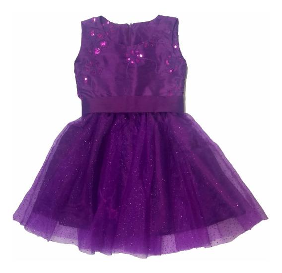 Vestido Festa Infantil - Luxo