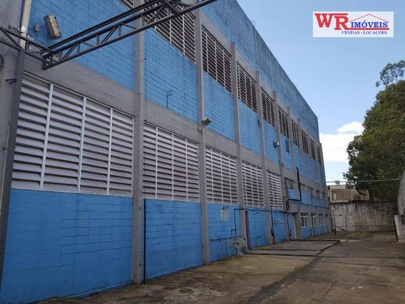 Galpão Para Alugar, 4314 M² Por R$ 50.000,00/mês - Centro - Diadema/sp - Ga0079