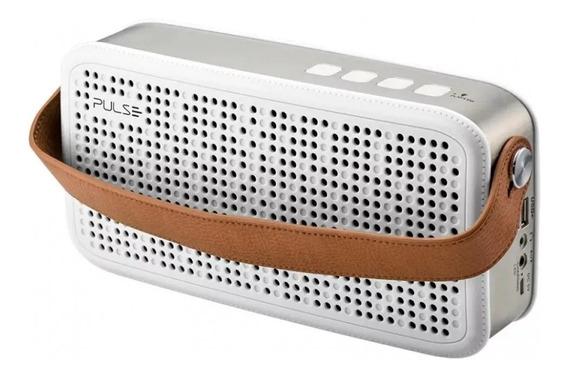 Caixa De Som Bluetooth Hands Free Pulse Branco - Sp248 Full