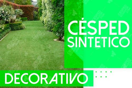 Imagen 1 de 5 de Césped Sintético Decorativo Para Jardines