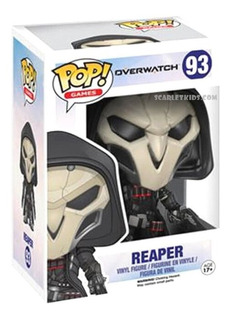 Funko Pop Overwatch Reaper 93 Original Funo Scarlet Kids