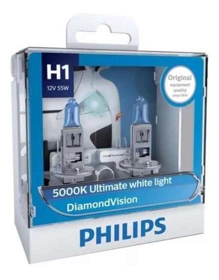 Philips Diamond Vision 5000k H1 - 100% Original - Promoção