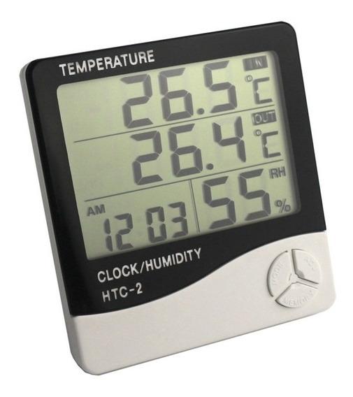 Medidor Temperatura E Umidade Lcd Digital
