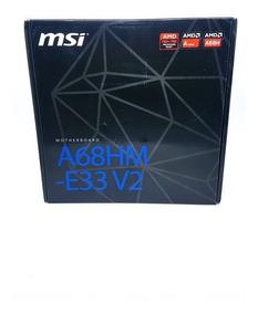 Kit Pc Cpu Placa Msi Fm2+ Processador Amd A6 7480 + 4gb Ddr3
