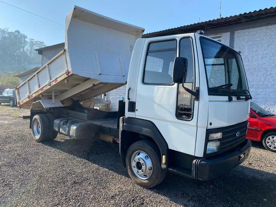 Cargo 814 Caçamba, Motor Novo