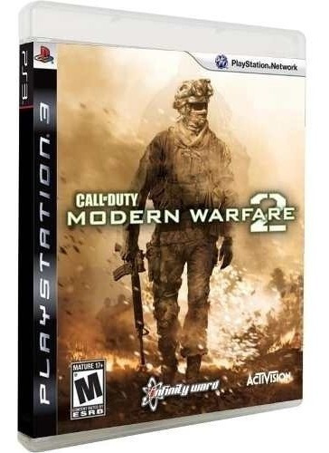 Call Of Duty Modern Warfare 2 Midia Fisica Ps3 Novo Cod Mw2
