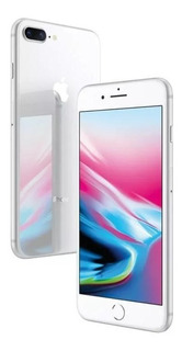 iPhone 8 Pluz 5.5, Câmeras 12mg +7mg, 64 Gb Prata