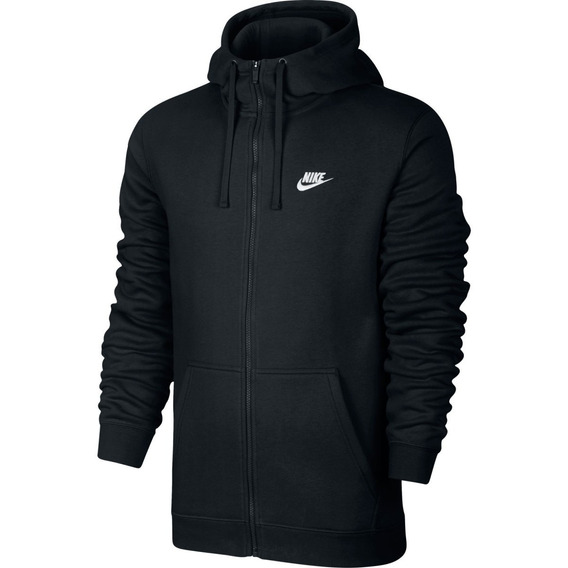 Jaqueta Moletom Nike Hoodie Preta Black Friday Original