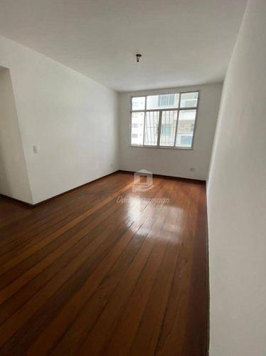 Imagem 1 de 18 de Apartamento Com 2 Dormitórios À Venda, 70 M² Por R$ 420.000,00 - Icaraí - Niterói/rj - Ap1119